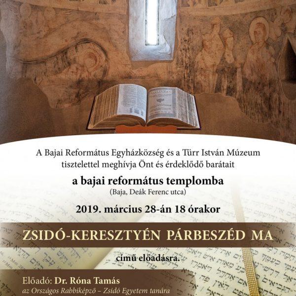 Zsidó-keresztyén párbeszéd ma